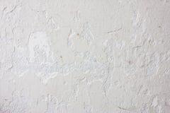 Parede detalhada alta do branco da pedra do fragmento Imagem de Stock Royalty Free