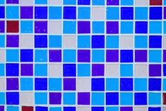Parede do azulejo no banheiro Fotografia de Stock
