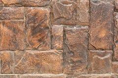 Parede do bloco das pedras Imagens de Stock