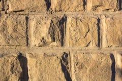 Parede do bloco das pedras Fotografia de Stock