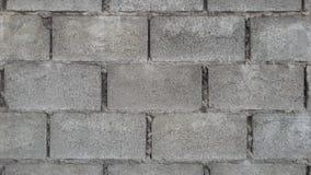 Parede do bloco de cimento Foto de Stock
