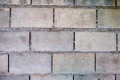 Parede do bloco de cimento Fotos de Stock