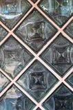 Parede do bloco de vidro Fotografia de Stock Royalty Free