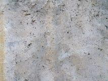 Parede do branco cinzento de muitos furos Foto de Stock Royalty Free