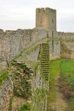 Parede do castelo Fotografia de Stock