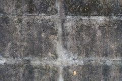 Parede do cimento Fotografia de Stock