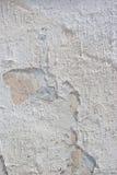 Parede do cimento branco Imagens de Stock Royalty Free