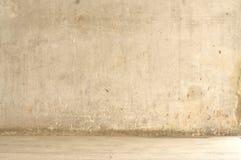 Parede do cimento do Grunge com rua Imagens de Stock