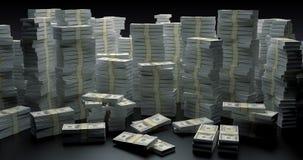 Parede do dinheiro Imagens de Stock Royalty Free