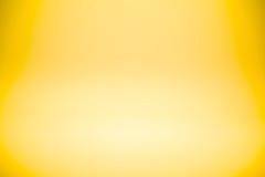 Parede do estúdio do sumário do inclinação do ouro amarelo para o produto ou o texto do projeto do contexto sobre ilustração do vetor