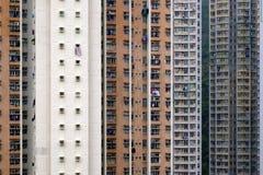 Parede do fundo do prédio de apartamentos imagens de stock royalty free