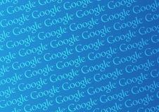 Parede do logotipo de Google ilustração royalty free