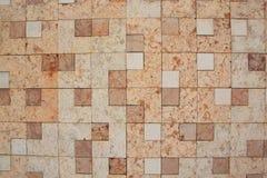 Parede do mármore quadrado imagens de stock