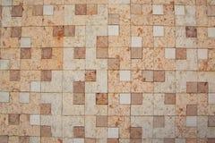 Parede do mármore quadrado fotografia de stock royalty free