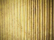Parede do metal amarelo Imagem de Stock Royalty Free