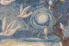 Parede do mosaico no estilo moderno Fotos de Stock Royalty Free