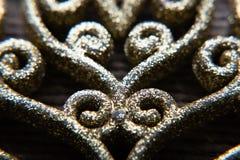 Parede do ouro do fundo imagens de stock royalty free