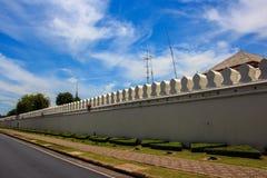 A parede do palácio imagem de stock royalty free