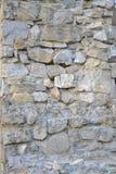 Parede do pedra-trabalho da reconstrução Foto de Stock