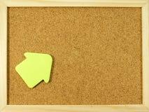 Parede do Pin Fotografia de Stock