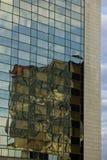 Parede do prédio de escritórios Fotografia de Stock Royalty Free