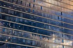 Parede do prédio de escritórios Fotos de Stock Royalty Free