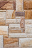 Parede do Sandstone imagem de stock royalty free