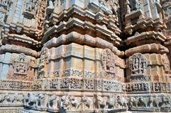 Parede do templo Fotografia de Stock