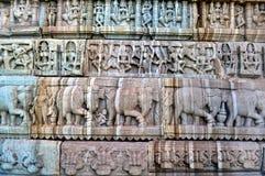 Parede do templo Imagens de Stock