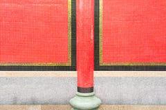 Parede do templo de China Fotos de Stock