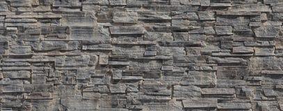 Parede do teste padrão das pedras decorativas Fotos de Stock Royalty Free