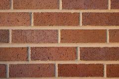 Parede do teste padrão do tijolo vermelho Fotos de Stock