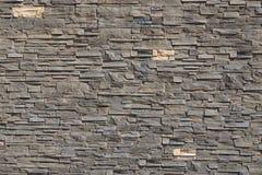 Parede do teste padrão das pedras decorativas Foto de Stock Royalty Free