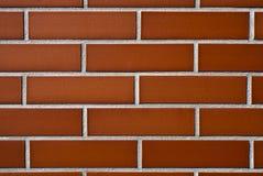 Parede do tijolo vermelho imagens de stock