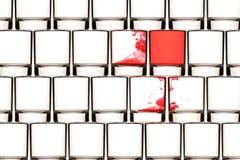 Parede do vírus do fundo Imagem de Stock