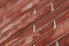 Parede do vermelho de tijolo Imagem de Stock