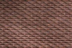 Parede do vermelho de tijolo Fachada clássica Fotos de Stock Royalty Free