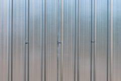 A parede do zinco Foto de Stock Royalty Free