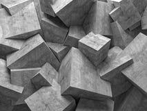 Parede dos cubos Imagens de Stock