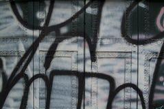 A parede dos grafittis Imagens de Stock Royalty Free