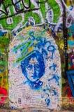 A parede 3 dos lennon de John Imagem de Stock