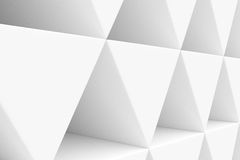 Parede dos prismas de papel Imagem de Stock