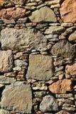Parede Drystone imagens de stock