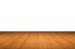 Parede e assoalho de madeira Foto de Stock