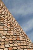 Parede e céu de tijolo Imagem de Stock Royalty Free