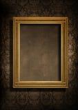 Parede e frame sujos Imagem de Stock