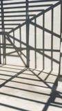 Parede e sombra Imagem de Stock