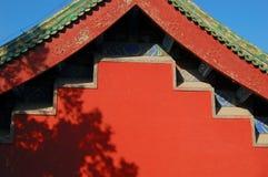 Parede e telhado Imagens de Stock
