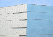 Parede exterior de edifícios modernos Fotografia de Stock Royalty Free