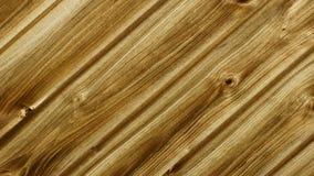 A parede fêz a madeira do ââof Imagens de Stock